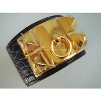 Wholesale Hot sale Black Gator Gold Hw Celier Da Chian Bracelet New