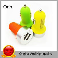 auto choice - Micro Auto Universal Dual USB Car Charger For iPad for iPhone V A Mini Adapter Color for Choice