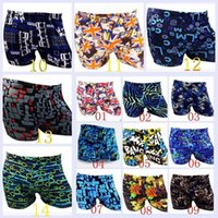 Wholesale 2015 AAA quality hot color size Fashion cool men boy summer beach shorts surf swim trunks boxer man swim suit swimwear TOPB2921