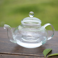 Wholesale Practical Resistant Bottle Cup Glass Teapot with Infuser Tea Leaf Herbal Coffee Home ML Drop Shipping