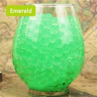 Wholesale 1000pcs crystal mud water absorbing resin ball ocean baby crystal soil home decorations N639
