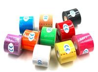 adhesive bandage - 30pcs New Arrive cm x m NEW Kinesiology Kinesio Roll Cotton Elastic Adhesive Muscle Sports Tape Bandage Physio Strain Injury Support