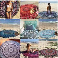 beach clock - Hot Round Square Rectangle Women Beach Cover Ups Sexy Beach Wear Pareo Bohemian Chiffon Clock Swimsuit Cover Up Bathing Tunic Dress B336