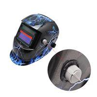 Wholesale New Arrival Pro Solar Auto Darkening And Blue Welding Helmet Arc Tig Mig Mask Grinding Welder Mask