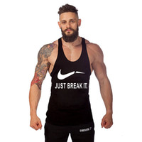 aerobics men - New Gym shark ANIMAL Mens Tank Tops Stringer Bodybuilding Camisole aerobics clothing gym Superman GYM Tanks Sports Training dig deep muscles