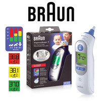 Wholesale 2016 Braun Thermoscan IRT6520 infrared Ear Thermometer Outdoors Outdoor Sports Emergency Prep First Aid