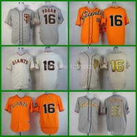 baseball pagan - 2015 New Cheap Authentic San Francisco Giants Jersey Angel Pagan Jersey Cream Gray Orange Baseball Authentic Jersey Embroidery Logo