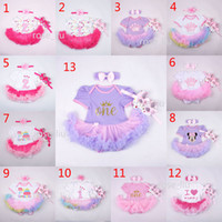 baby animals cake - Baby Christmas Xmas Minnie rompers set suits happy birthday Newborn girl Lace Short sleeve rompers cake dress Hair band shoes B001