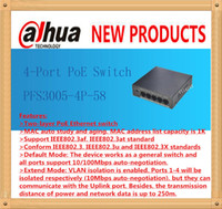 Wholesale DAHUA Port PoE Switch Support Two layer PoE Ethernet switch IEEE802 af IEEE802 at Without Logo PFS3005 P