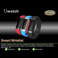 anti corrosion - Fashionable Design Smart Wristbands Shockproof Anti Corrosion Smart Wristlet WiFi Anti Lost Smart Bracelet for iphone Samsung Xiaomi U9