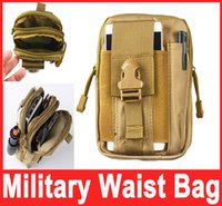 Wholesale Military Outdoor Waterproof Nylon Tactical Waist Fanny Pack Belt Bag EDC Camping Hiking Travel Sports Pouch Wallet Phone Bag Hot