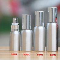aluminum water pumps - 20ml ml ml ml ml ml High end cosmetics liquid spray bottle Aluminum bottle Superfine mist filling water spray cans