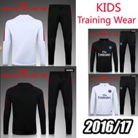 Wholesale AAA quality shall psg training wear sportswear Jogging leisure soccer sportswear brand workout clothes