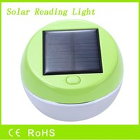 Wholesale 2016 mini solar reading light with working hours cheap portable solar reading camping apple light from factory directly