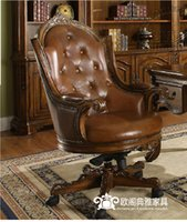 big leather chairs - Big chair The boss chair Leather swivel chair