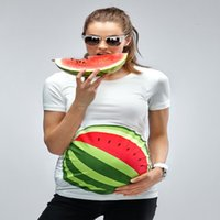 Wholesale summer fashion new maternity watermelon D digital printing factory one generation maternity photography props