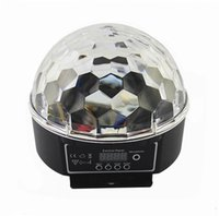 Wholesale Customized new design leds effect rotating crystal disco ball light led effect lighting from guangzhou factory