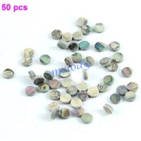 abalone inlay material - 50 Pieces mm Colorful Abalone Inlay Material Dots Guitar Parts Abalone Inlay Guitar Parts amp Accessories