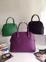 american fur - Leather bolide Bag Lady Handbag Bag Handbag Satchel Bag inside sheepskin Prolab extravagance shell bag