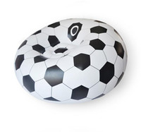 Wholesale Genuine design Inflatable foldable Football sofa seat sofa chair fit for outdoor or living room