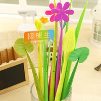 ballpoint pen manufacturers - 1pcs Manufacturers selling all kinds of creative stationery flowers design ballpoint pen