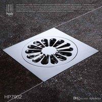 Wholesale Han Pai Brass Bathroom Sewer Filter Deodorization Water Outlet Shower Floor Drain banheiro salle de bain HP7902