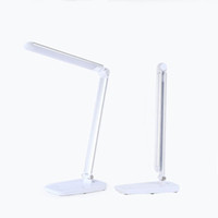 aluminum table lamps - Table lamps led light modern LED desk lamps office light touching switch durable eyeshield charge easily multi colored