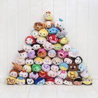 alice baby - 10pcs Retail cm Mini Lovely TSUM TSUM toy Animal plush Doll Baby toys Alice Cinderalla Snow white
