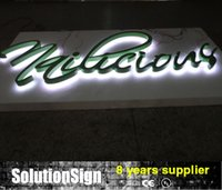 Wholesale Waterproof outdoor indoor front Lit LED illuminated sign