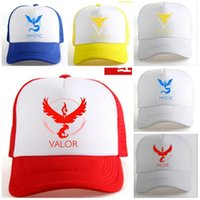 Wholesale Hot Colors baseball Cap Hat Team Valor Team Mystic Team Instinct Benn Cap
