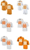 Wholesale Men s Women Youth Kid Tennessee Volunteers Personalized Customized College Cheap jersey Orange Top Quality Drop Shipping jersey