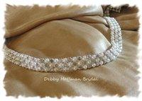 Wholesale SALE Rhinestone Pearl Bridal Sash Pearl Crystal Wedding Sash Pearl Wedding Belt Jeweled Pearl Sash Pearl Bridesmaid Belt