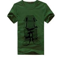 Wholesale new men t shirt Men s Fashion Short Sleeve Tee T Shirts Good Quality Retail summer style
