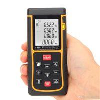 Wholesale Digital Laser Distance Meter Range Finder Measure Distance Area Volume with Bubble Level m ft
