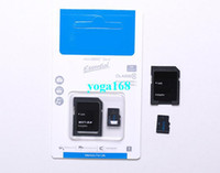 Cheap Hot 64 32 16GB Class 10 Micro SD TF Memory Card with Free Adapter Retail blue Package MicroSDHC Cards For Tablet PC Smart Android Phone 5pcs