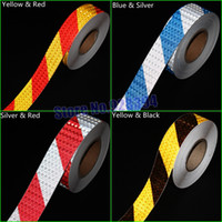Wholesale mmx50M Stripe Safety Reflective Adhesive Tape Reflective Tape Sticker For Truck Car Motorcycle Warning Tape Choose Color
