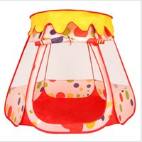 big red tent - 2016 new toys mutil color Children s tent Large game room Wishing bottles of tents Play House Children s Cubby Fun