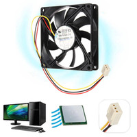 Wholesale DC V Wire Pin mm x mm x mm Cooling Cooler PC Computer Case CPU Fan Airflow