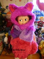 alice scarf - cm Alice in Wonderland Cheshire cat plush stuffed hat glove toys scarf action figure adult cosplay party hat gift377
