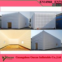Wholesale m diameter oxford cloth inflatable dome tent for event party with freeshipping by DHL