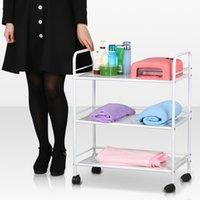 Wholesale New Shelf Iron Cart Trolley Doctor Dentist Medical Trolly Spa Salon Equipment