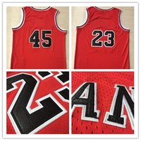 Wholesale Snakeskin Chicago Michael Number Basketball Jerseys Men s Stitched and Embroidery New Arrival Basketball Jersey High Quality Color Red