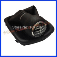audi shift boot - Car Gear Shift Knob With Leather Boot Gear Complete for AUDI A6 C5