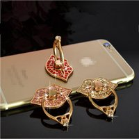 Wholesale 2016 New Luxury Degree Finger Ring bracket Mobile Phone Smartphone Stand Holder Red Pink White