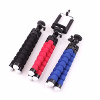 Wholesale Mini Portable Flexible Sponge Octopus Tripod Stand Mount With Holder For Mobile Phone Action Camera And Camcorder