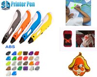 adjustable nozzle - 2016 DEWANG First Generation D Magic Pen With Color M ABS Filament And Nozzle Best D Printer Tablet LCD LED For Kids