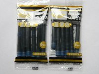 Wholesale Blue and black HERO fountain pen ink cartridges Pen refill
