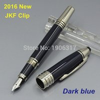 Wholesale 2016 NEW Great Characters Series Special Fountain Pen With JFK Clip Stationery Writing Pens For Gift