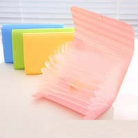 Wholesale Multifunction A6 Accordion Style Bills Receipt File Document Bag Pouch Folder Card Holder Organizer File Holder Layers