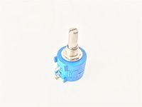 Wholesale 100 Ohm to K Ohm S Rotary Wirewound Precision Multiturn Potentiometer Pot Turn W Variable Resistor
